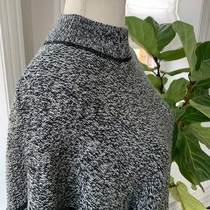 Vintage ❤️ Mock Neck Oversized Sweater ❤️ Size M